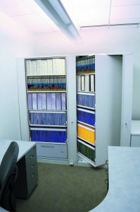 6 tier rotary storage for office