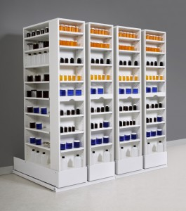 UltraStor Pharmacy Layout - Linear Storage System
