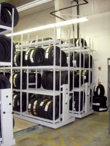 Tire Storage on Compact System